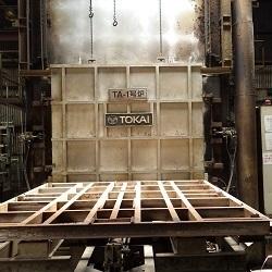アルミ焼鈍炉