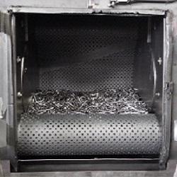 タンブラー式ショットブラスト装置